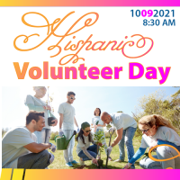 Hispanic Volunteer Day por Lorena Mora-Mowry