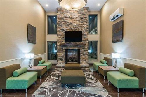 Living Room area of Lobby