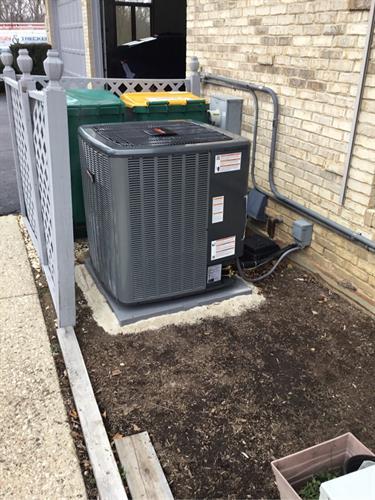 20 SEER Modulating AC Unit installation