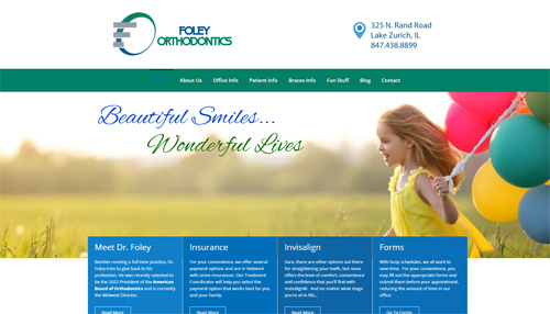 Foley Orthodontics Website