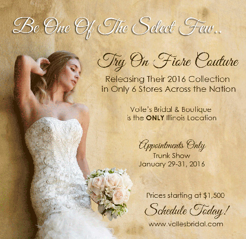 Volle's Bridal Trunk Show Promotion