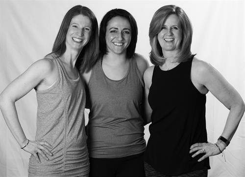 Alison, Susan and Sandy~a woman owned business that strives to help all feel welcome and to grow in their yoga journey.