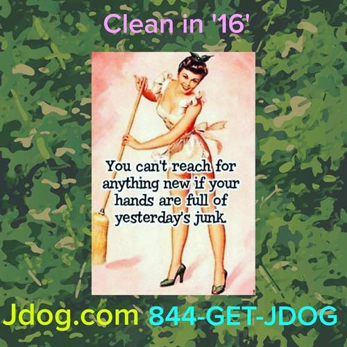 Get clean in 16'!