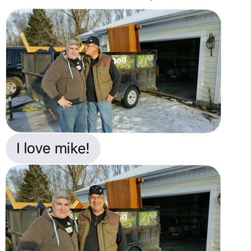 Our customers love Mike!