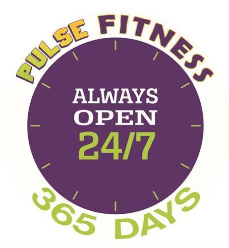 Open 24/7 to members!