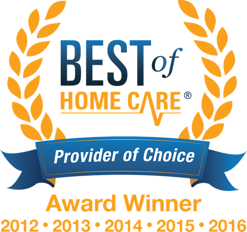 Best of Home Care 5 Years in a Row!!
