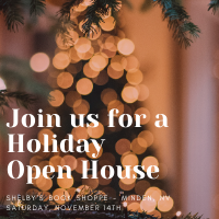 Holiday Open House by Shelby's Book Shoppe