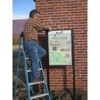 Interpretive signs to help visitors understand Dangberg history