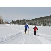Cross-country skiing returns to Spooner Lake