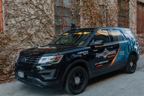 Our flagship patrol vehicle!