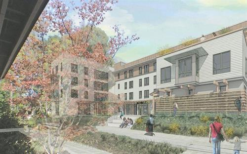 St. Paul's Commons affordable housing in Walnut Creek