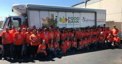 Food Bank staff