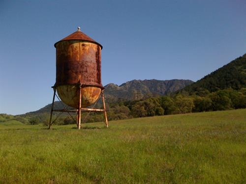 Water Tower, Mitchell Canyon Trail, Mt. Diablo