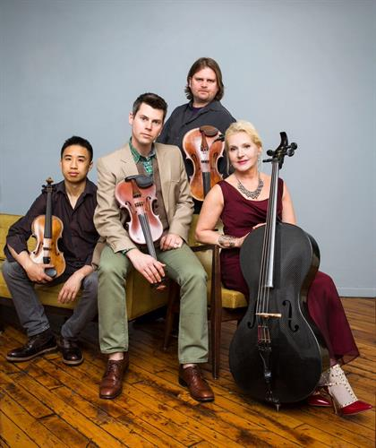ETHEL - Sunday, March 26, 2017, Sweney Concert Hall, Smith College. Performance will begin at 3:00 p.m.
