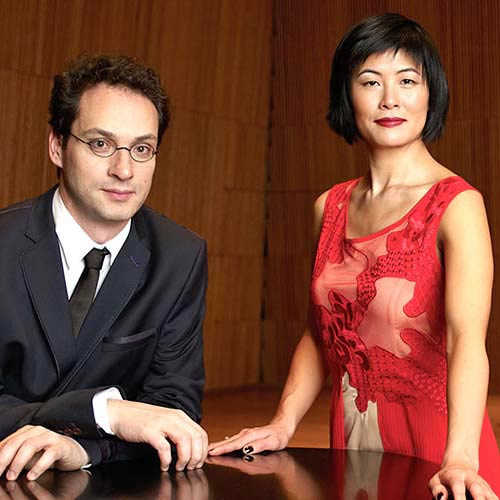 Jennifer Koh, violin & Shai Wosner, piano - Sunday, February 5, 2017, Sweeney Concert Hall, Smith College. Performance will begin at 3:00 p.m.