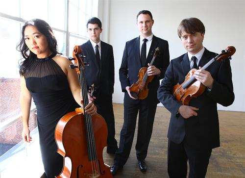 Calidore Quartet - Saturday, May 6, 2017, Sweeney Concert Hall, Smith College. Performance will begin at 8:00 p.m.