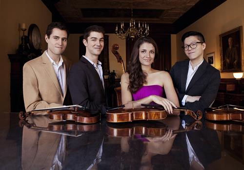 Dover Quartet - Sunday, November 13, 2016, Sweeney Concert Hall, Smith College. Performance will begin at 3:00 p.m.
