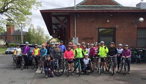 We organize rides, including the all-women Cyclo-Femme Ride in the Spring.