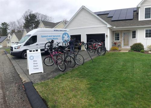 We bring the bike shop to you!