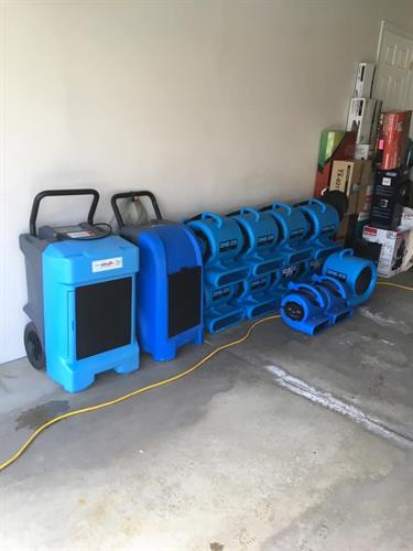 Water Damage Drying Equipment