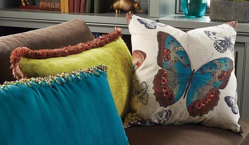Custom throw pillows!