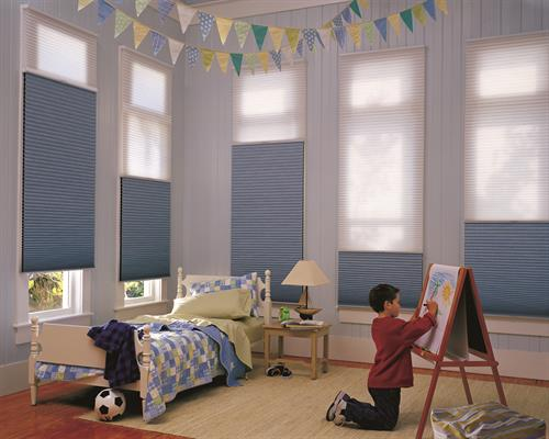 Child Friendly Cellular Shades!