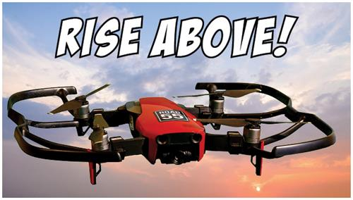 Rise up your content with Road 55. Drone videography services.