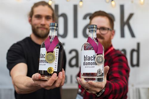Award Winning spirits. Locally sourced x crafted with love.
