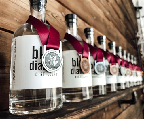 FUN FACT: every product we've ever entered for judging has won medals, something we didn't really know was a big deal until we were told how proud we should be about it by industry experts. We don't compromise on quality, and it shows up in our bottles  - but don't take our word for it, come check out our Award Winning spirits for yourself!