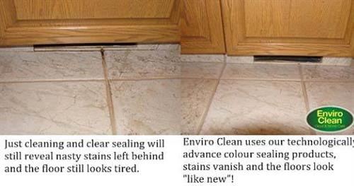 Remove dirt, grime, and bacteria from tile and grout to improve your health.
