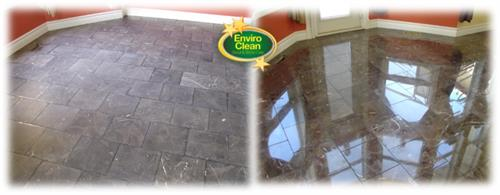 Marble, travertine, limestone can be polished, honed, cleaned and sealed.