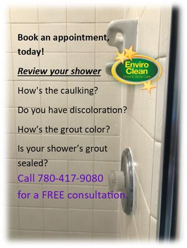 Book a shower cleaning to remove soap scum, mold, and bacteria. We also replace caulking.