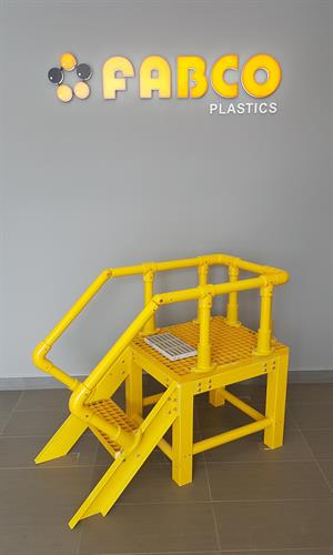 FPR stairs - engineered structures available
