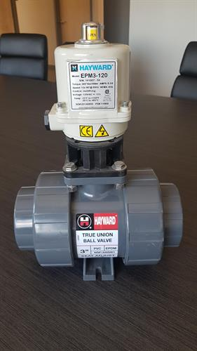 Actuated valve