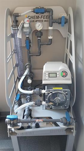 Small Chemical injection skid