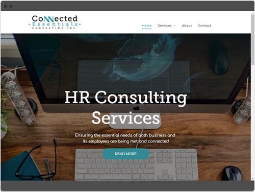 Website Design for Connected Essentials HR