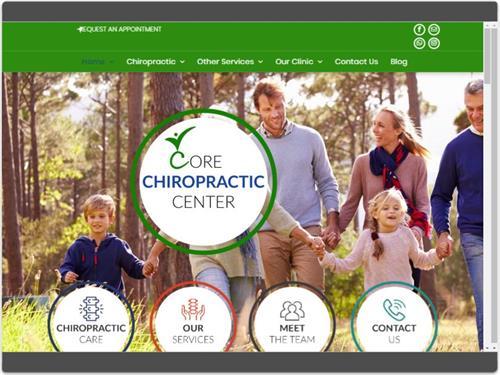 Website Design for Core Chiropractic Center