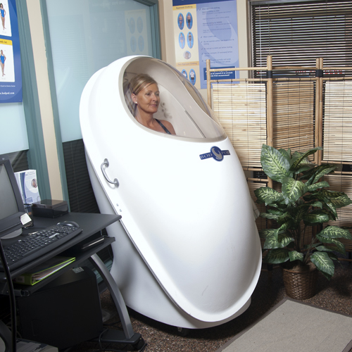 Bod Pod body composition testing > as used at Mayo Clinics!