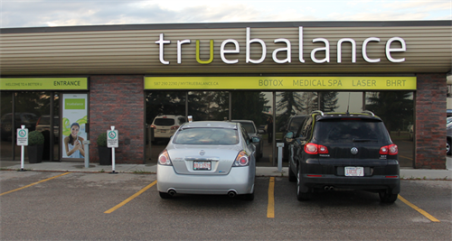 True Balance is located in Campbell Park with Sturgeon Valley Athletic Club