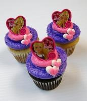 Barbie Ring Cupcakes