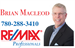 Brian Macleod - RE/MAX Professionals