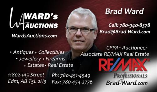 Brad Ward Business Card