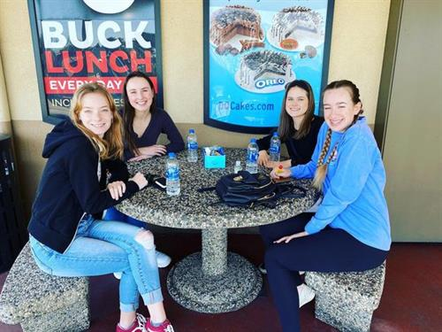 Casa Roble Senior Lunch at Dairy Queen