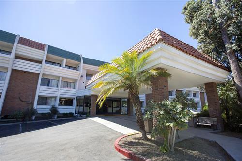 Amanzi Hotel Entrance