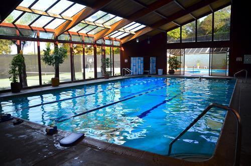 Swim indoors - yearound!