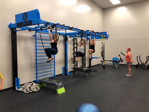 Functional Training Room with Move Strong Nova Wall