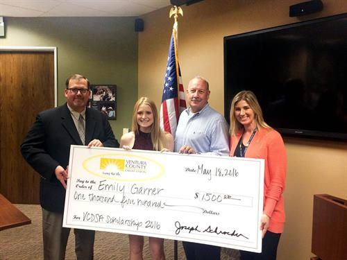 VCCU proudly supports youth scholarships