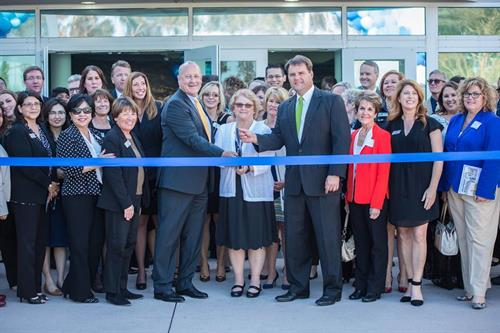Ribbon Cutting for VCCU's corporate headquaters located in Ventura