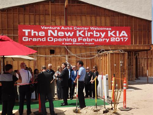 Kirby KIA Ground Breaking Ceremony