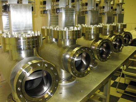 Vaccum Welding and Leak testing